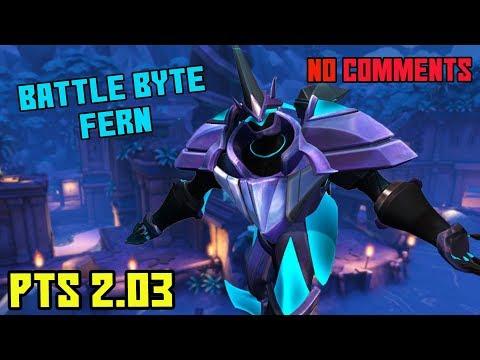NEW BATTLE BYTE FERNANDO SKIN GAMEPLAY | Paladins 2.03 PTS