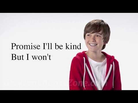 Greyson Chance paparazzi lyrics