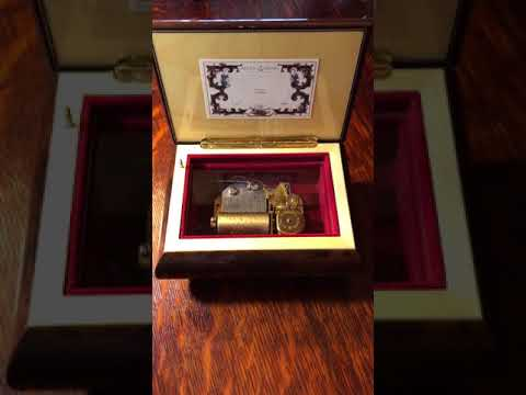 Reuge Swiss Music box * Pachelbel's Canon 36note movement