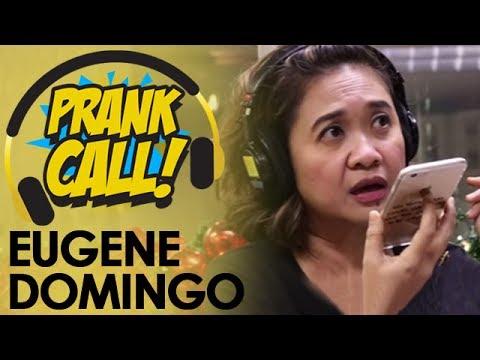 Eugene Domingo, Nagsungit Sa Prank Calls!
