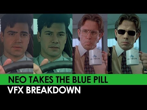 Neo Takes The Blue Pill [DeepFake] VFX BREAKDOWN
