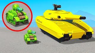Big Tank Vs Mini Tank.. I Had To Pay $6,000,000 (GTA 5)