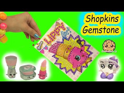Lippy Lips Season 1 Shopkins Stopmotion Make Your Own Gemstone Picture  Video