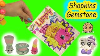 Lippy Lips Season 1 Shopkins Stopmotion Make Your Own Gemstone Picture  Video