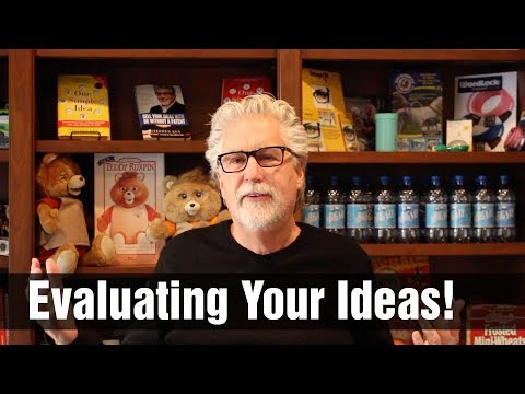 How to Evaluate Your Ideas for New Products