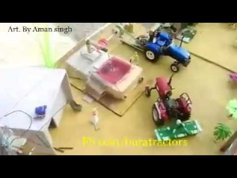 New punjabi Tractor Stunt 2017