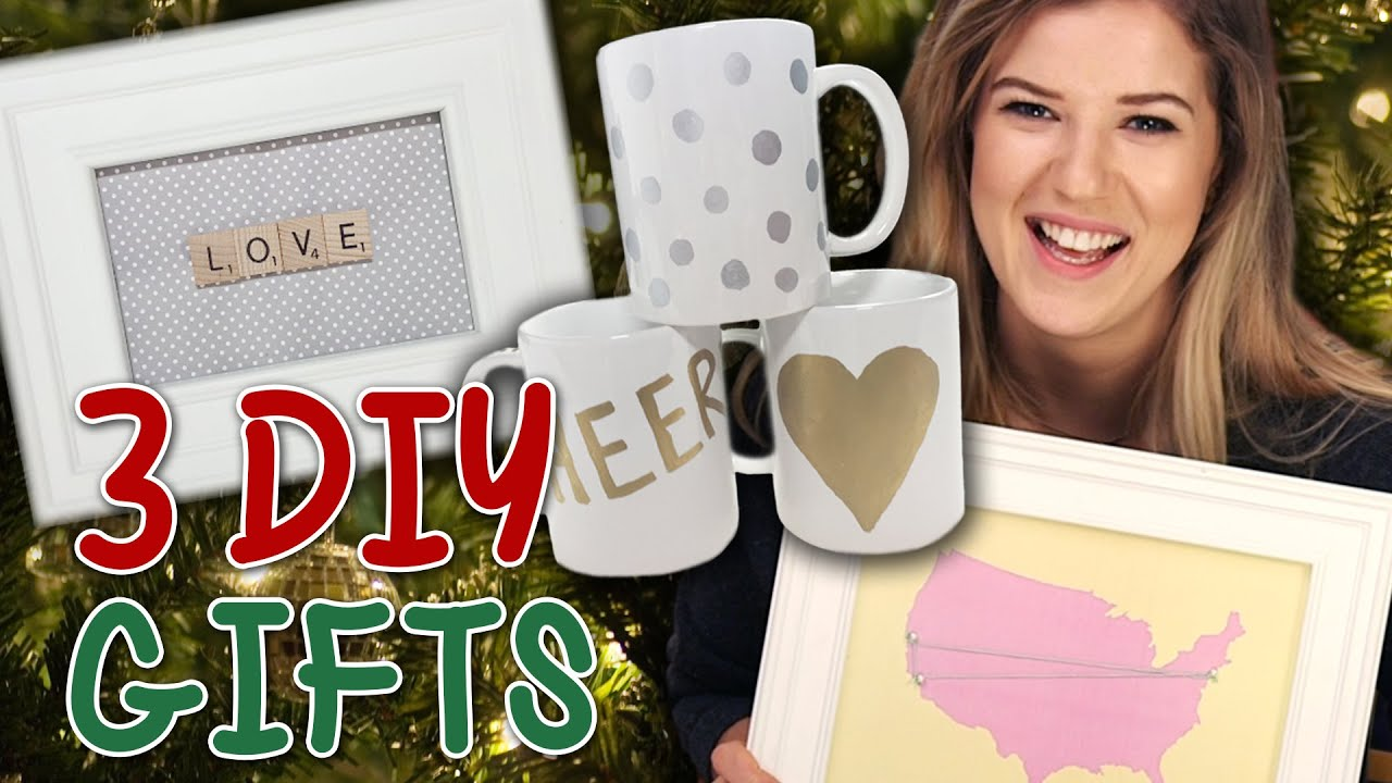 3 cute easy diy holiday gift ideas for friends family for Cute homemade christmas gifts for family