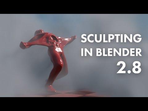 Blender. Sculpting.