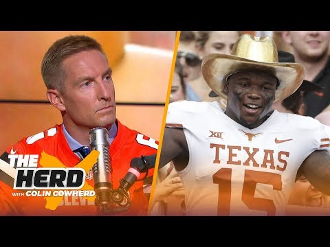 Joel Klatt on Texas being a legitimate Big 12 contender, Notre Dame's playoff hopes | CFB | THE HERD