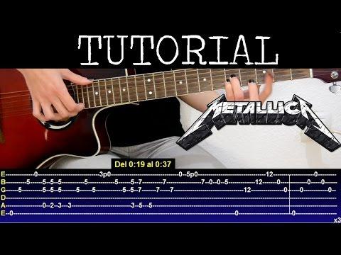 Cómo tocar Nothing else matters de Metallica Parte 1 (Tutorial Guitarra)