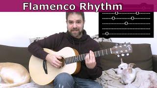Lesson: Two Easy Flamenco Fingerpicking Rhythm Patterns - Guitar Tutorial w/ TAB