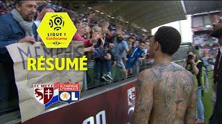 FC Metz - Olympique Lyonnais ( 0-5 ) - Résumé - (FCM - OL) / 2017-18