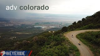 4K Motorcycle Adventure on Colorado's Uncompahgre Plateau #everide