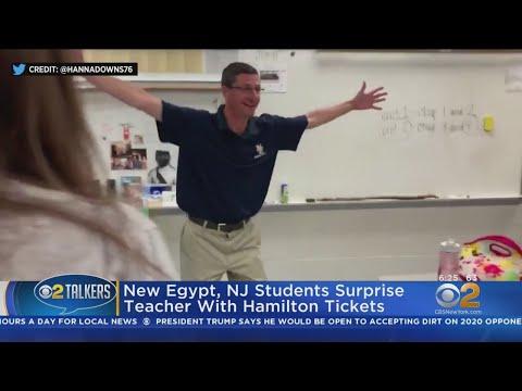 None - Students Buy Hamilton Tickets For Teacher