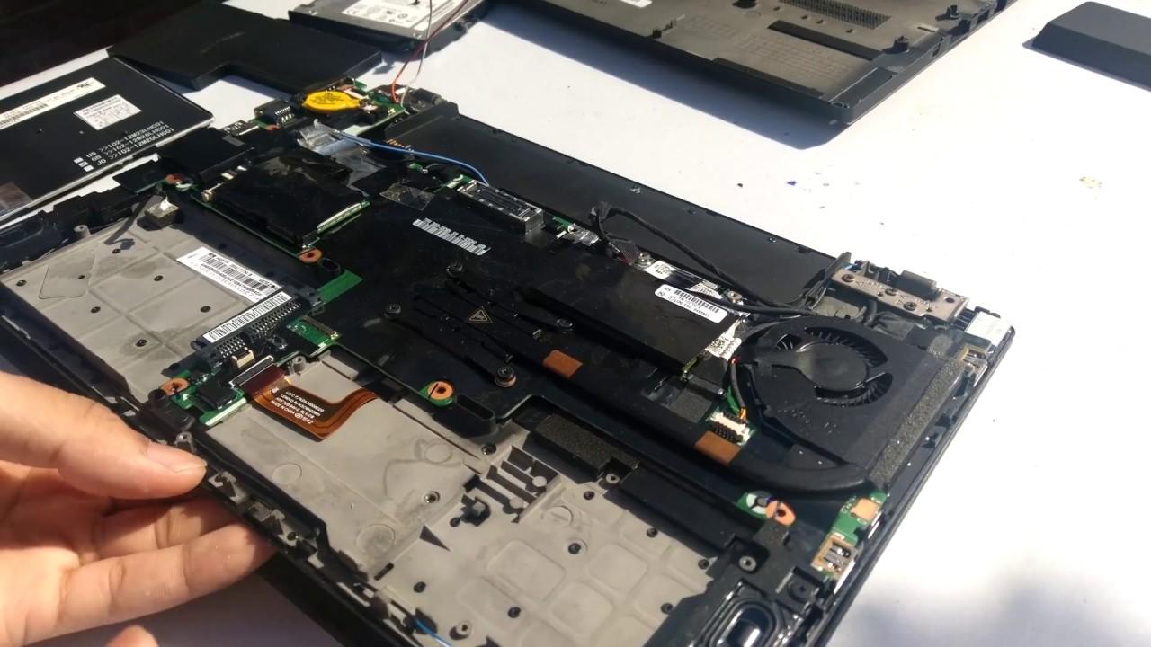Dissasembling a Lenovo T440s