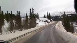Дальнобой по Скандинавии.Рейс на север Норвегии.Часть #4
