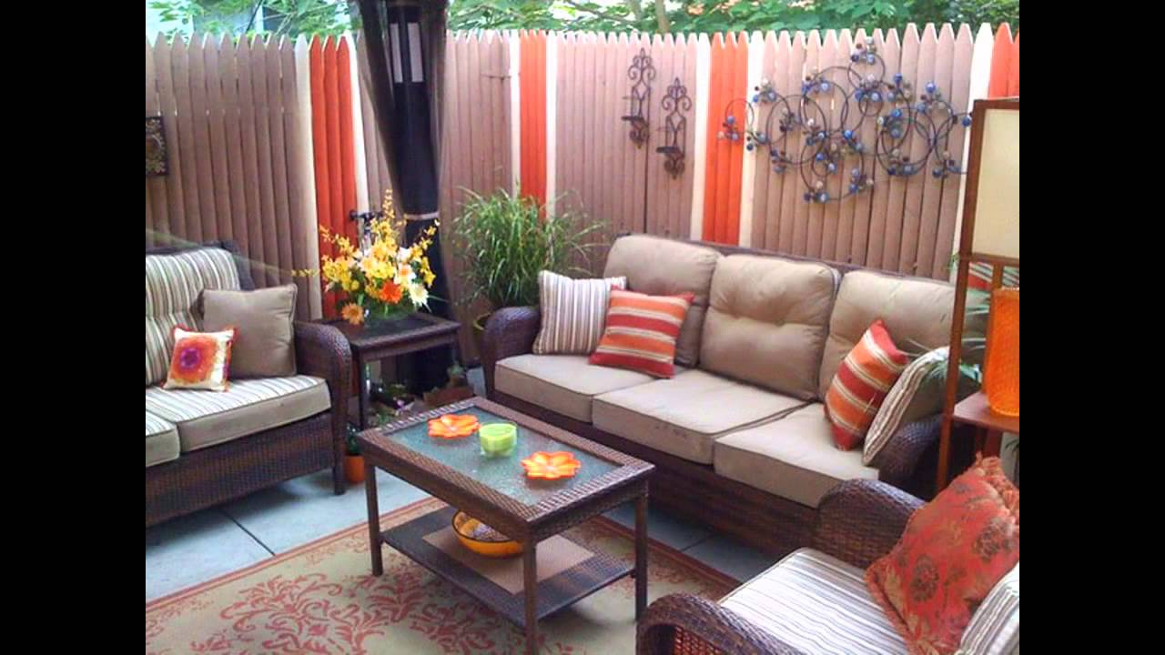Small patio makeovers ideas - YouTube on Outdoor Patio Makeover id=29592