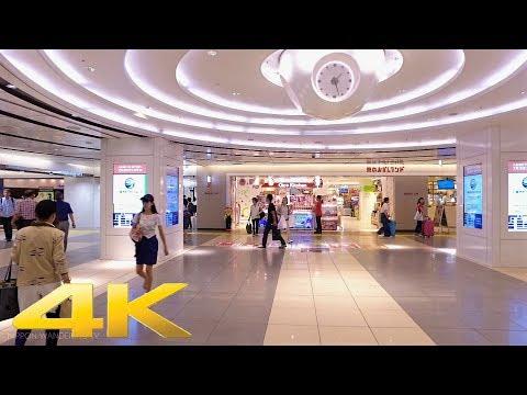 Walking around Tokyo station underground mall, Tokyo - Long Take【東京・東京駅地下】 4K