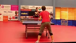 Guy Makes Three Snake Shots in Ping Pong - 1018974-3