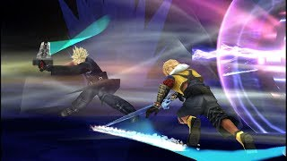 Dissidia 012 [duodecim] Final Fantasy - Online Battle - Tidus vs. Prishe / Cloud