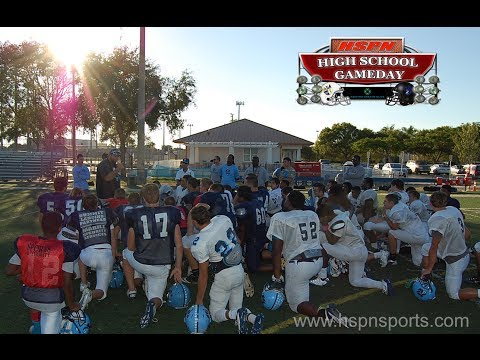 HIGH SCHOOL SPORTS - CORAL SPRINGS CHARTER VS. JOHN CARROLL CATHOLIC - HSPN 'GAME OF THE WEEK'