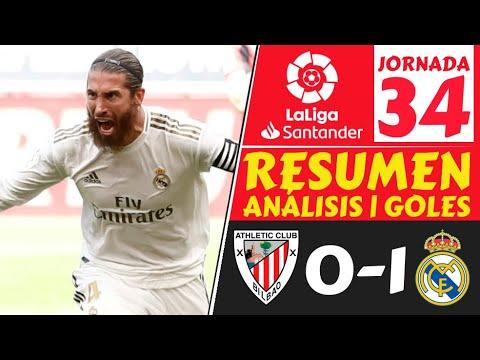 Athletic Bilbao vs. Real Madrid - Reporte del Partido - 5 julio, 2020 ...