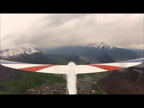 Aerobatics with the Pilatus B-4