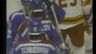 Calgary Flames Vs. Dinamo Riga 1989
