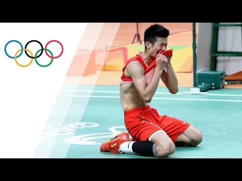 Chen wins gold in Badminton singles