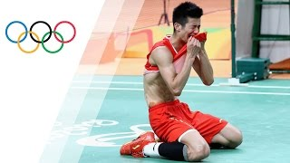 Chen wins gold in Badminton singles