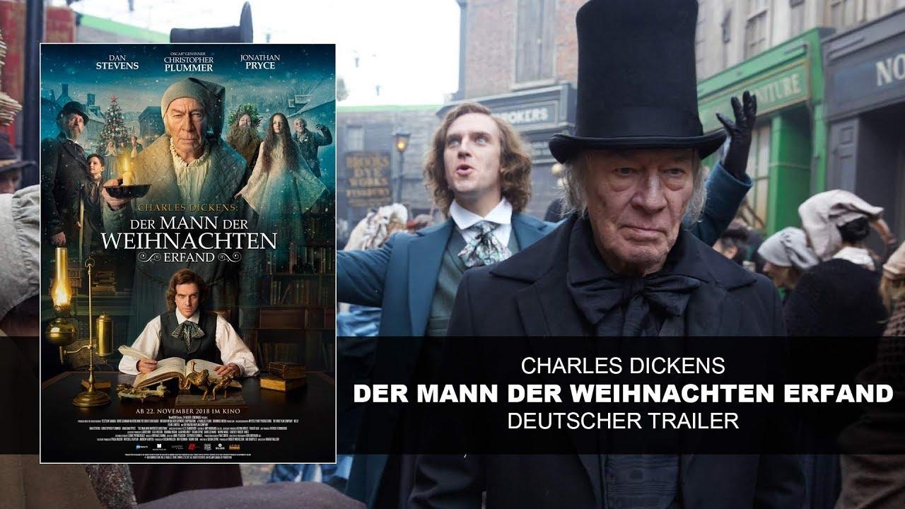 Der Weihnachten.Charles Dickens Der Mann Der Weihnachten Erfand Deutscher Trailer Hd Ksm
