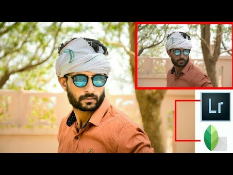 CLEAN FACE + HIDE PIMPLES + MAKE SMART FACE IN SNAPSEED LIGHTROOM EDITING TUTORIAL || PHOTO RETOUCH