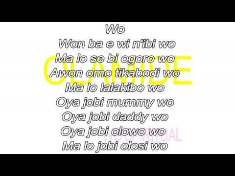 Olamide - Wo spiritual (Lyrics)