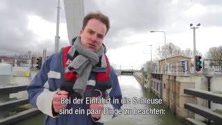 Provinz Flevoland - Schleusen und Brücken passieren
