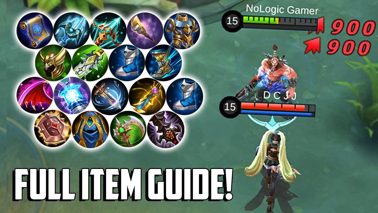 all new and reworked item guide! | mobile legends bang bang | mlbb