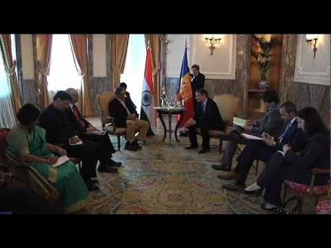 Meeting of EAM with the Foreign Minister of Andorra