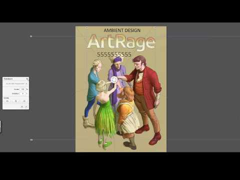 Illustrating a Book Cover in ArtRage 5 with Nick Harris