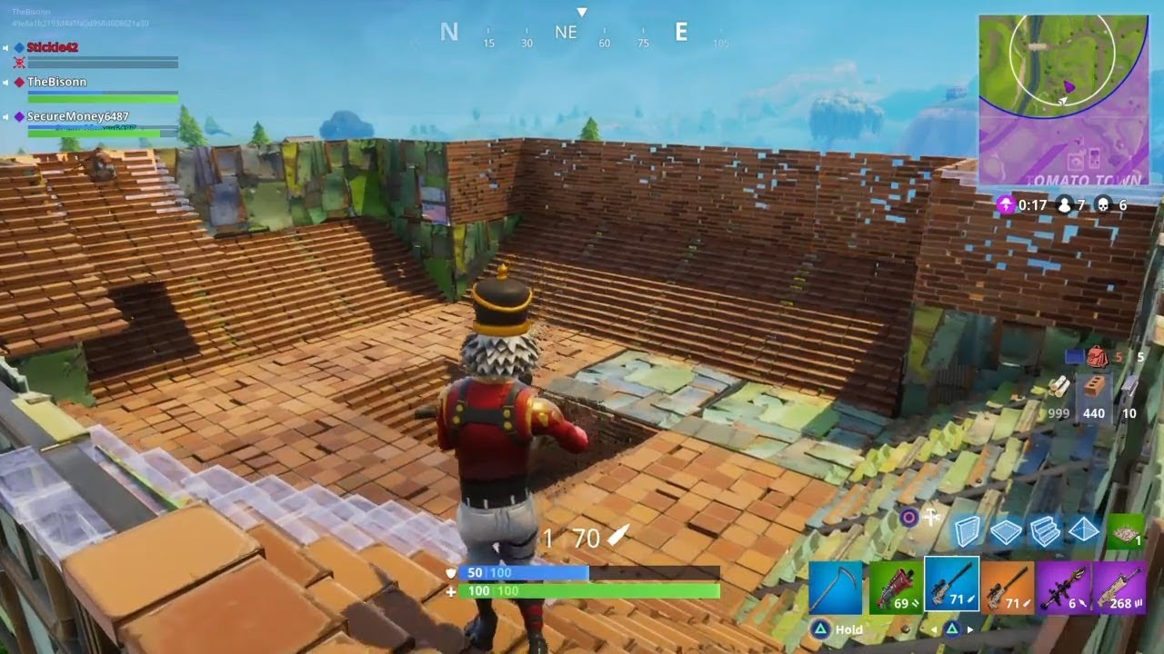 How To Build Large Base Fortnite