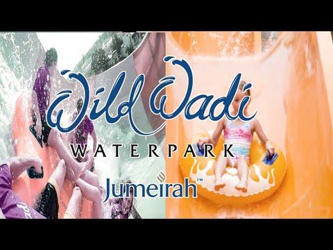 Wild Wadi Waterpark dubai 2021, /Near To The Burj Al Arab & Jumeirah Beach Hotel, Dubai, UAE