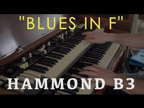 My daily (jazz)blues Routine (hammond B3) - Blues in F