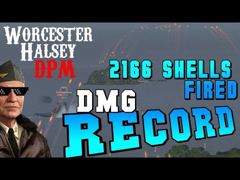 DAMAGE RECORD ❌ How to Worcester || World of Warships