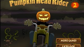 Pumpkin Head Rider 2 Level1-3 Walkthrough