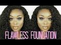 My current FLAWLESS SKIN Foundation Tutorial | Karmen Ali