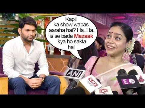 Shumona Chakrovarti Makes FUN Of Kapil Sharma's COME BACK News