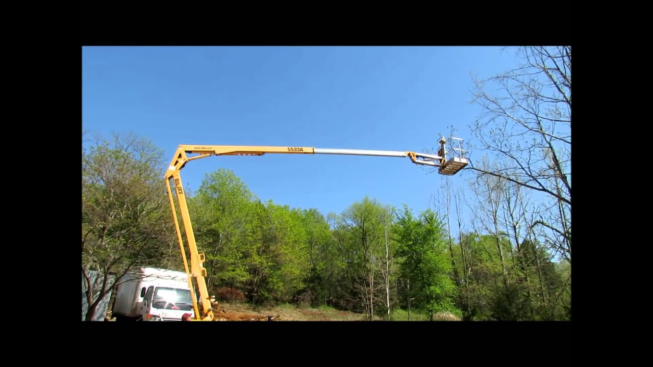 2006 bil jax 5533a portable boom lift for sale sold at auction may