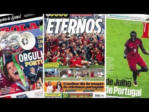 Portugal 1-0 France : Ronaldo et Eder stars de la presse européenne