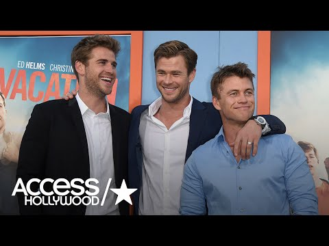 4 Times The Hemsworth Brothers Were Totally Adorable  Access Hollywood
