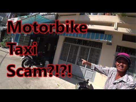 Motorbike Taxi Scam Saigon (Ho Chi Minh City)