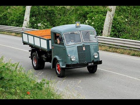 Tre anni di restauro per rivedere in strada il vecchio camion FIAT 626 N