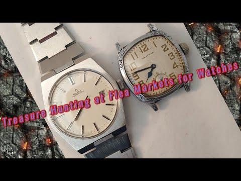 Vintage Watch at Fleamarket, Garage Sale or Antique Shops Vintage Omega, Vintage Seiko and more.